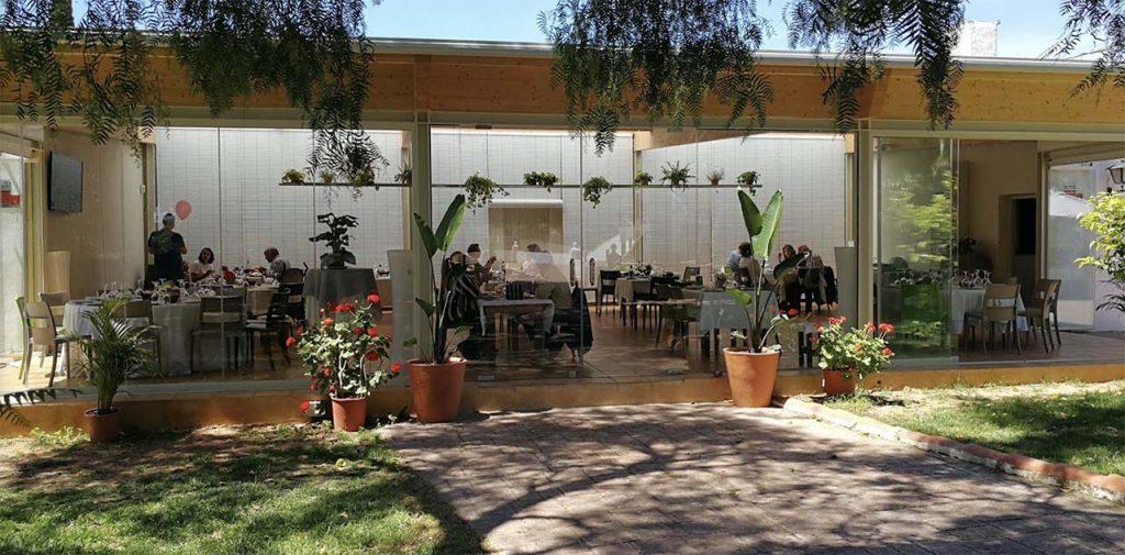 Restaurante con terraza en Valencia